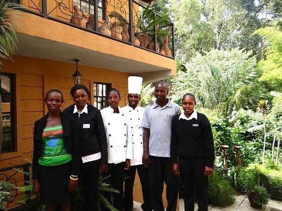 Ikweta Country Inn: Quality service
