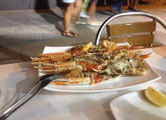 Restaurante Carmen: Cigalas