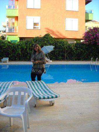 Seven Stars Exclusive Hotel : Esta é a piscina do hotel.