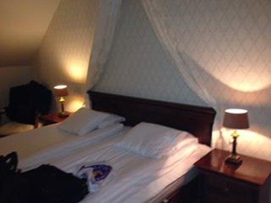 Mayfair Hotel Tunneln: Ett av Mayfairs personliga rum som jag bodde i
