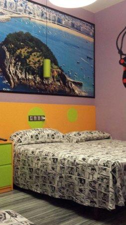 JC Rooms Santa Ana : La camera