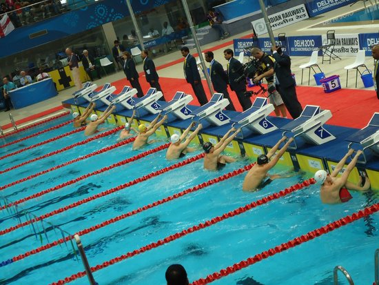 The Competition View Dr S P Mukherjee Swimming Pool Tripadvisor