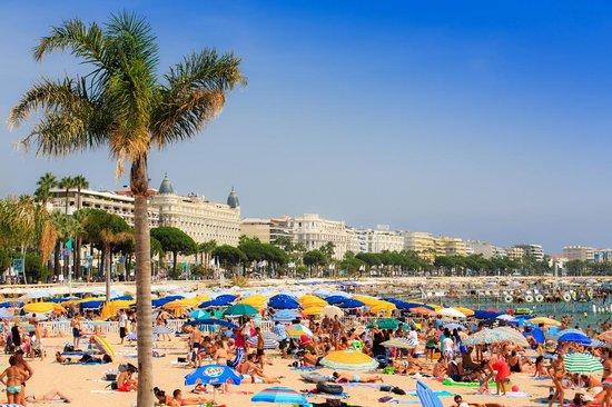 Plage Macé © Palais des Festivals et des Congrès de Cannes/FABRE