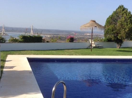 Parador de Ayamonte: view from pool