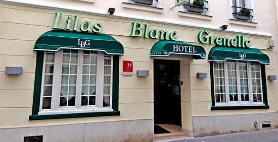 Hotel Lilas Blanc: Vue extèrieure