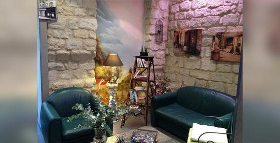 Hotel Lilas Blanc: Salon