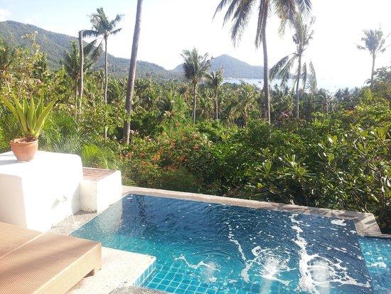 Anankhira Villas: vue de la piscine