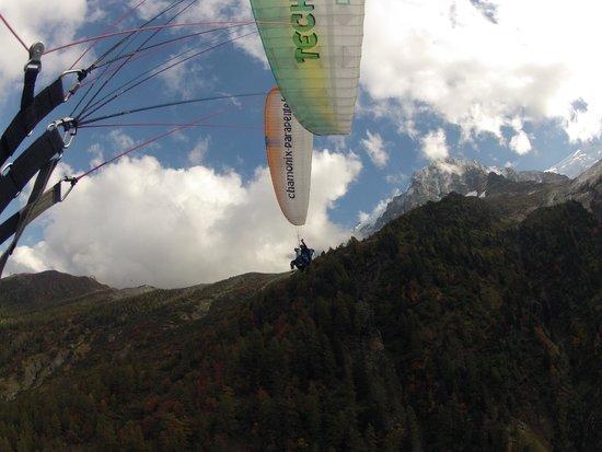 Peak Experience Parapente : Flug über Chamonix