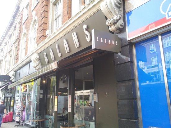 Balans Soho Society - Kensington: Name Board