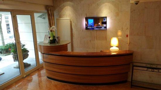 Marriott Executive Apartments Brussels, European Quarter: reciption