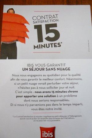 Ibis La Roche sur Yon : pipeau!!!
