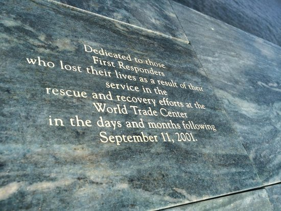 Postcards-The The Staten Island September 11 Memorial: Dedication