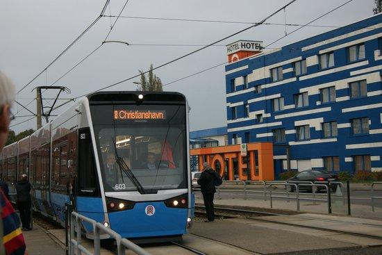 Hotel Citymaxx: Offentlig transport tæt på hotel