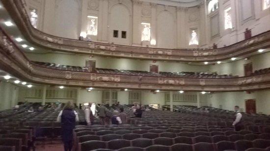 Boston Symphony Orchestra : The hall