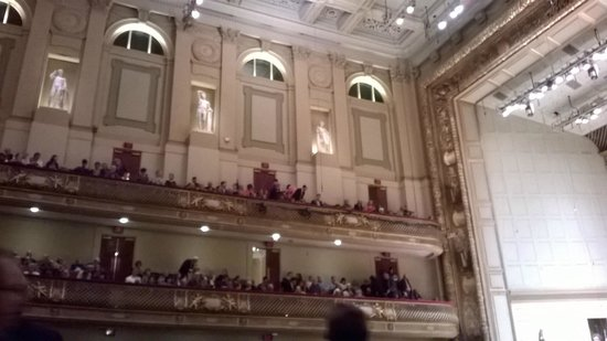 Boston Symphony Orchestra : The balconies