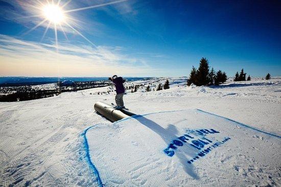 Storefjell Ski and Sledding Center