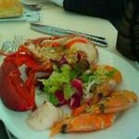 Restaurante Gayarre: Langosta
