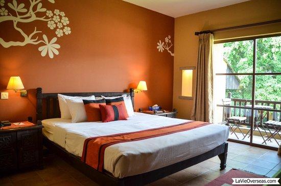 Temple Tree Resort & Spa: Temple Tree Resort room.