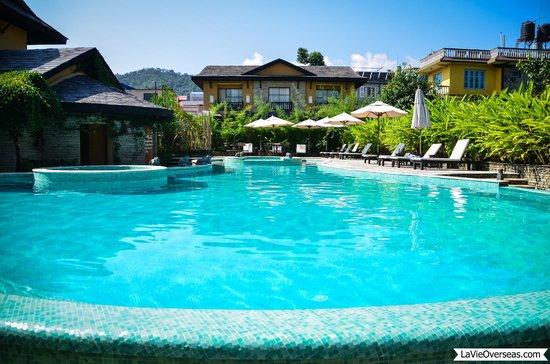 Temple Tree Resort & Spa: Temple Tree Resort pool.