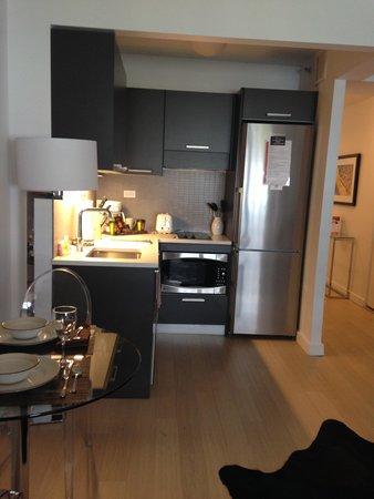 Oakwood at The Nash: Modern kitchen, coffee maker, etc...