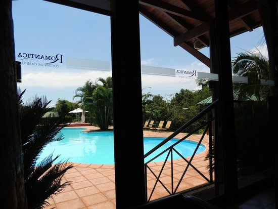 Romantica : Vista da piscina