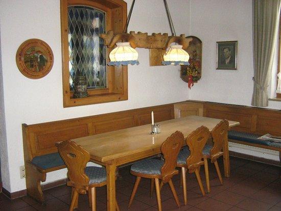 Landgasthof Nagerl: Inside Dining area