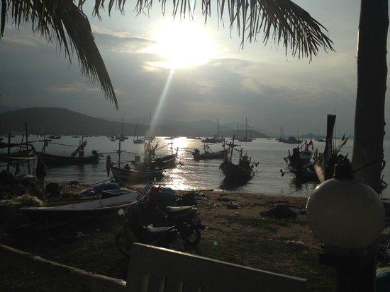 Nadapa Resort Koh Tao: Sunset in Koh Tao