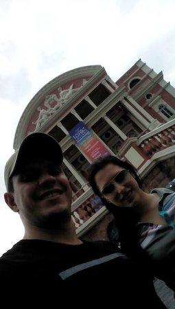 Teatro Amazonas Museum: de fora
