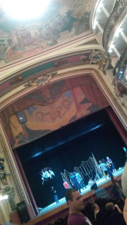 Teatro Amazonas Museum: palco
