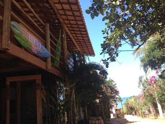 Zicatela Beach Hostel: Faxada