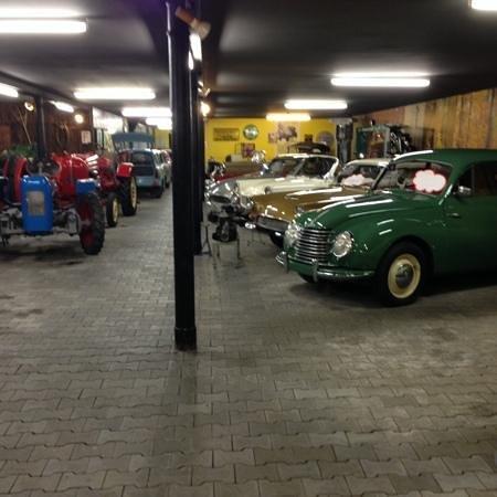 Automuseum Busch: für jeden was dabei, sogar Traktoren