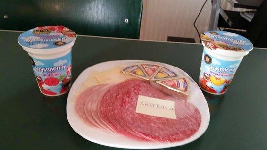 Hostel Mamas&Papas: breakfast