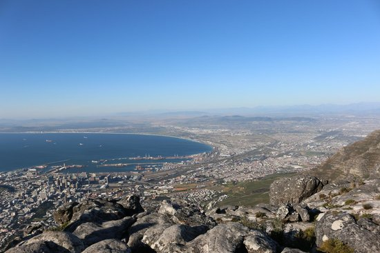 Table Mountain National Park, South Africa: panorama