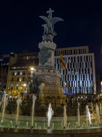Plaza Espana : Plaza de España