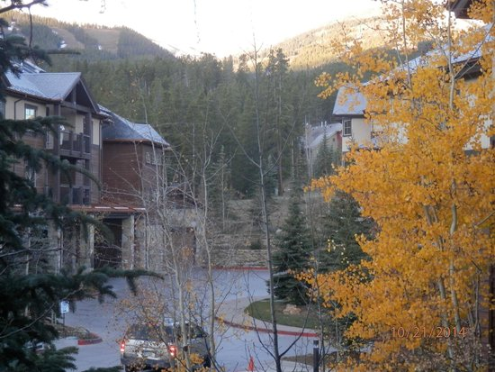Grand Timber Lodge: Beautiful view from our room.  What a way to wake up!