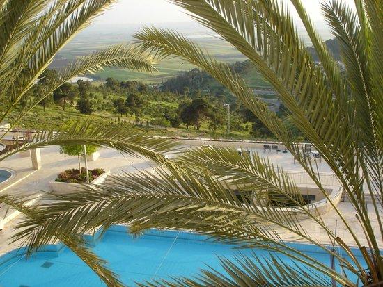 Golden Crown Nazareth Hotel : Vista desde la habitación del Hotel Goden Crown (Nazareth)