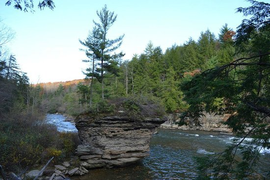 Swallow Falls State Park : The Youghiogheny River