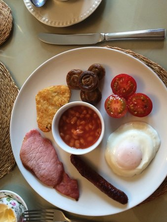 Bindon Bottom B&B: Small breakast option