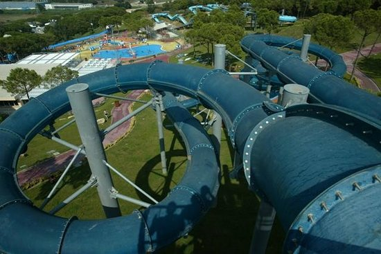 Water World Lloret: Storm Water Ride