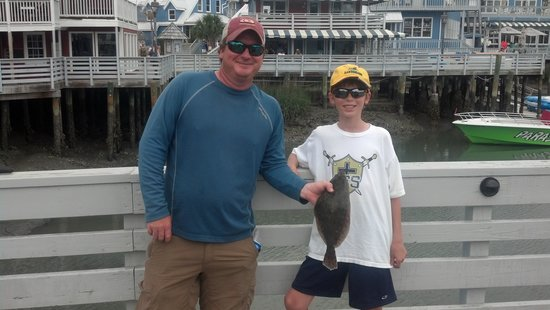 Tailer May'D Charters, LLC : 1st Flounder!