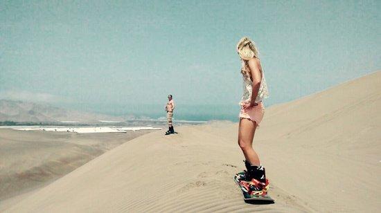 Sandride Sandboarding: Beauty day!