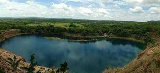 Mara Rosa: Lago Azul Panorâmico