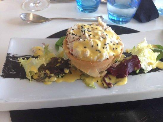 Restaurante Arqua : Tartaleta de ensaladilla