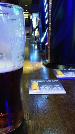 The Bentley Bar: smithwicks