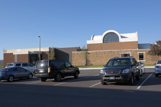 Gilcrease Museum: Side of Museum Outside