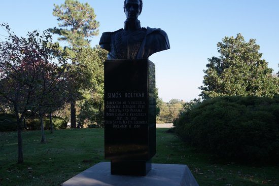 Gilcrease Museum: Simon Bolivar Statue