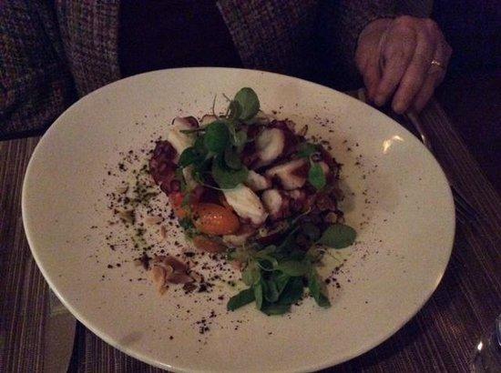 Pera Mediterranean Brasserie : Octopus salad