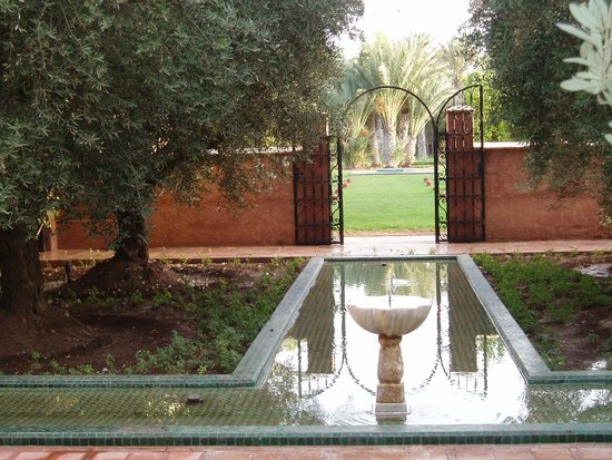 Villa Alouna: Entrée de la villa