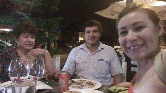 Chef Para LlevArt! : Muy contentos con la Cena