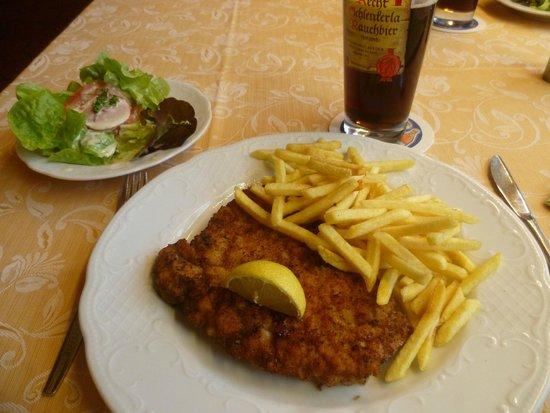 Hotel-Restaurant Buger Hof: ужин